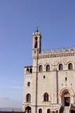 Palazzodei Consoli - Gubbio Royalty-vrije Stock Foto's