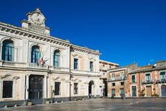 Palazzolo Acreide Royalty Free Stock Photography