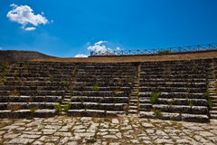 Palazzolo Ancient Theater Stock Photography