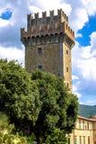 The Palazzone, elegant Renaissance villa in Cortona, Italy Royalty Free Stock Image