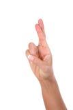 palców ręki kobieta zdjęcie stock