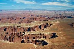 Palce w Canyonlands parku narodowym zdjęcia stock