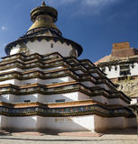 palcho tibet för gyantsekumbumkloster Arkivfoto