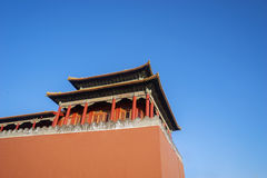 Palácio antigo no Pequim Fotografia de Stock