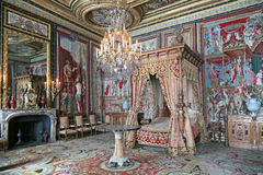 Palácio de Fontainebleau Imagens de Stock Royalty Free