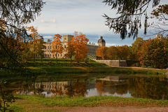 Palácio de Gatchina Imagem de Stock Royalty Free