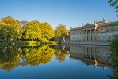 Palácio de Lazienki, Varsóvia, Polônia Fotos de Stock