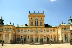Palácio de Wilanow em Varsóvia, Poland Imagens de Stock