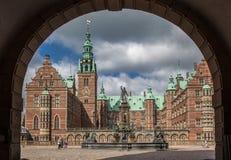 Palácio Dinamarca de Friederiksborg Fotos de Stock