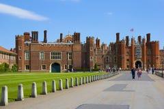 Palácio do Hampton Court Fotografia de Stock