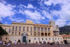 Palácio do príncipe de Monaco Foto de Stock