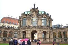 Palácio Dresden de Zwinger Fotos de Stock Royalty Free