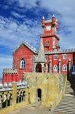 Palácio em Sintra, Portugal de Pena Imagens de Stock