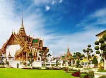 Palácio grande Banguecoque Tailândia Fotografia de Stock