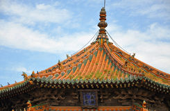 Palácio imperial de Shenyang, China Imagens de Stock Royalty Free