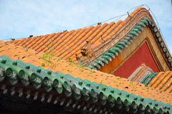 Palácio imperial de Shenyang, China Imagem de Stock Royalty Free