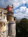 Palàcio Nacional da Pena, Sintra, Portugal. Royalty Free Stock Photos