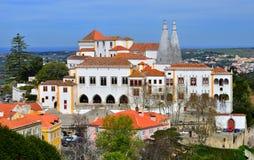 Palácio nacional de Sintra (palácio) da cidade, Portugal Fotos de Stock