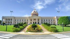 Palácio nacional - Santo Domingo, República Dominicana Imagem de Stock Royalty Free