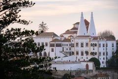 Palácio nacional, Sintra, Portugal Fotos de Stock Royalty Free