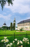 Palácios dos reis Torre do carpinteiro e da caliche St Sergius Lavra da trindade santamente Imagem de Stock