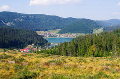 Palcmanska Masa lake in Slovak Paradise Stock Photos