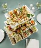 palcowego jedzenia wierza Zdjęcie Stock