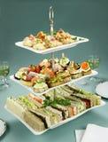 palcowego jedzenia wierza Obrazy Stock