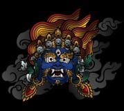 Palden Lhamo Royalty Free Stock Image