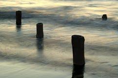 Pale. Baltic Sea Stock Image