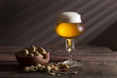 Pale beer Stock Images