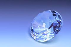 Pale blue gem Royalty Free Stock Images