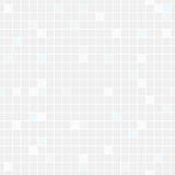 Pale blue and grey squares seamless background. Vector Royalty Free Stock Photos