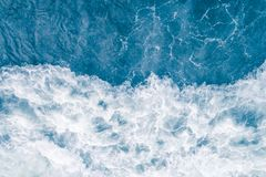 Free Pale Blue Sea Wave During High Summer Tide, Abstract Ocean Background Royalty Free Stock Photography - 144046367