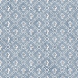 Pale Blue and White Cross Symbol Tile Pattern Repeat Background Royalty Free Stock Image