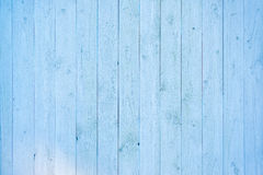 Pale blue wood plank surface texture Royalty Free Stock Photography