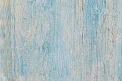 Pale blue wood planks texture or background.Vintage wood background with peeling paint. Shabby Wood Background .Old. Pale blue wood planks texture or background royalty free stock images