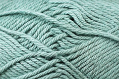 Pale Blue Yarn Texture Close Up Royalty Free Stock Photo