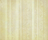 Pale brown floral wood carved stripes Royalty Free Stock Images