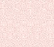 Pale color snowflakes Xmas and New Year elegant luxury pattern Royalty Free Stock Image