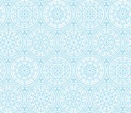 Pale color snowflakes Xmas and New Year elegant luxury pattern Stock Photography