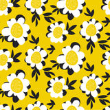 Pale color summer floral seamless pattern Stock Photos