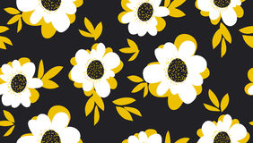 Pale color summer floral seamless pattern Stock Photography