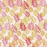 Pale color tropical leaves seamless pattern Stock Photography