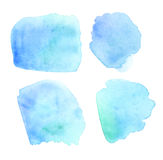 Pale color watercolor Royalty Free Stock Images