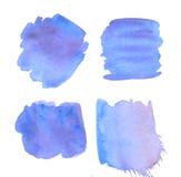 Pale color watercolor. Delicate pale color watercolor background Stock Images