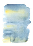 pale color watercolor Stock Photography