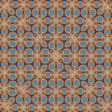 Pale colors squares frame rug print royalty free illustration