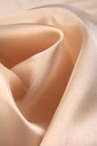 Pale cream silk Stock Photos