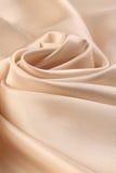 Pale cream silk Stock Photo